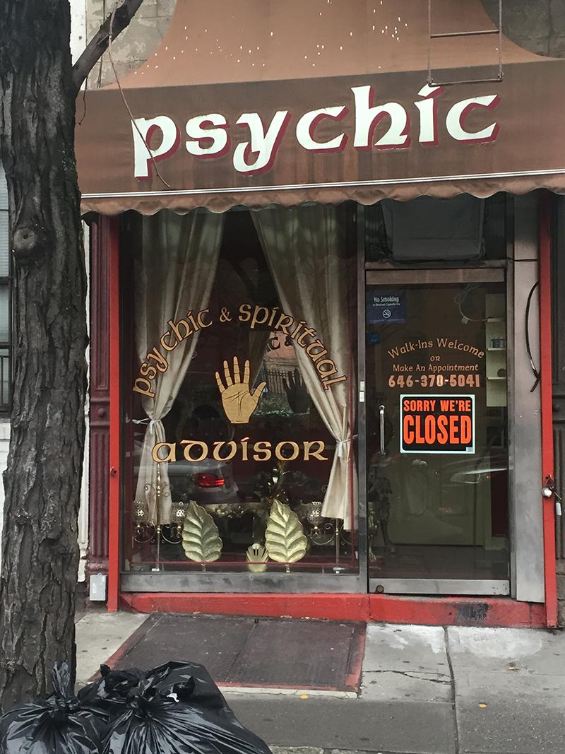 Photo: Psychic, Houston Street